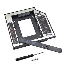 Адаптер Optibay 9.5mm SATA HDD 2.5'' SATA в отсек привода ноутбука