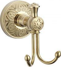 Крючок двойной S-005854B Savol золото