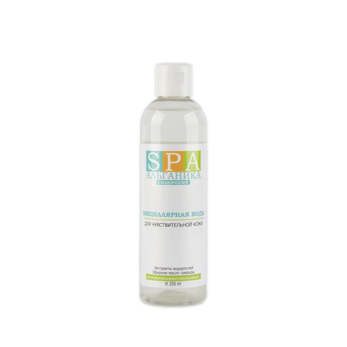 Мицеллярная вода для чувствительной кожи АЛЬГАНИКА SPA 250 мл