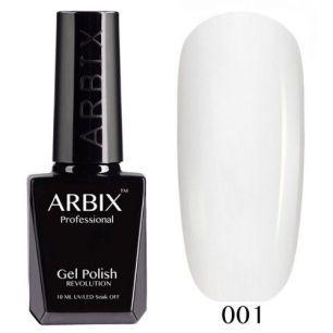 Гель лак  ARBIX № 01 Белый