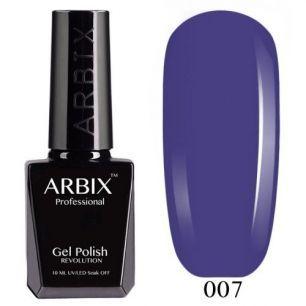 Гель лак  ARBIX № 07 Черничный мусс