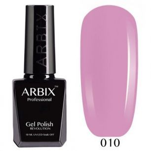 Гель лак  ARBIX № 10 Розовое настроение