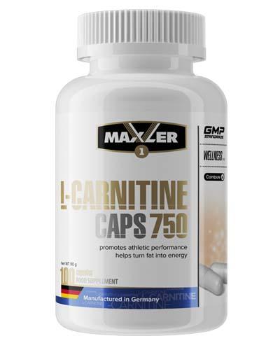 Maxler - L-Carnitine 750 caps