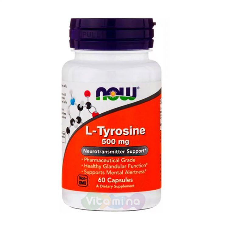 L-тирозин, 60 капсул.