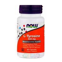 L-тирозин 60 капсул.