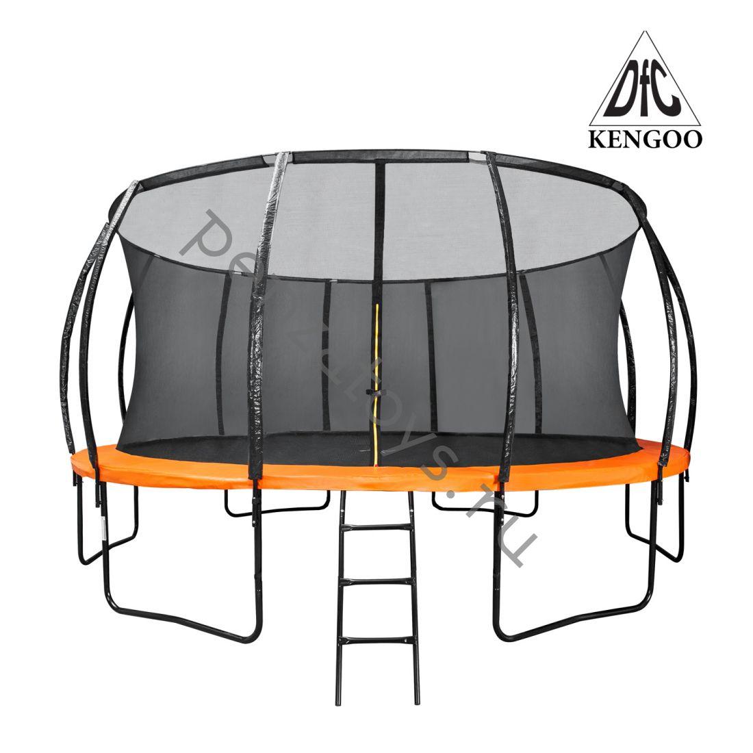 Батут уличный с внутренней защитной сеткой KENGOO II