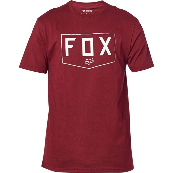 Fox Shield SS Premium Tee Cranberry футболка