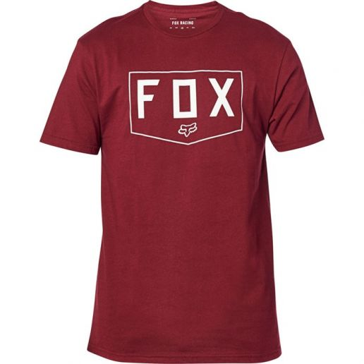 Fox Shield SS Premium Tee Cranberry футболка
