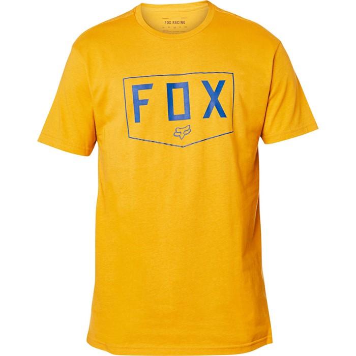 Fox Shield SS Premium Tee Mustard футболка