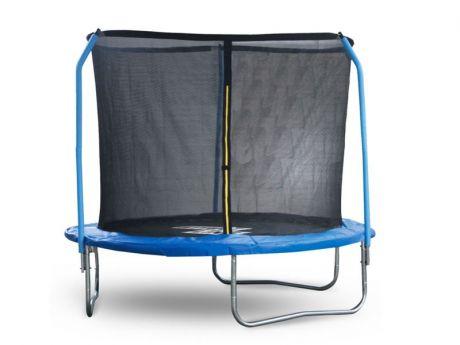 Батут StartLine Fitness 6 футов (183 см) с внутренней сеткой и держателями