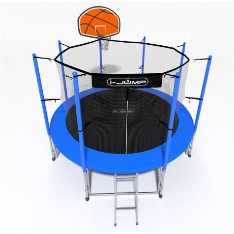 Батут i-Jump Basket 8ft blue