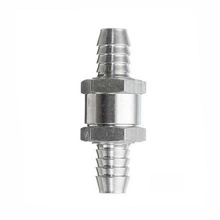 Обратный клапан алюминиевый для дренажа (сифон)