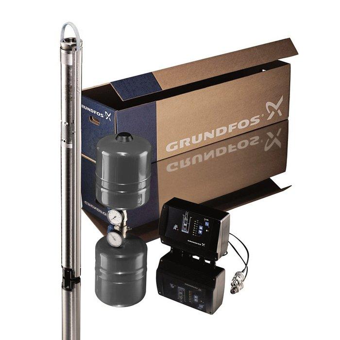 Grundfos Cons.pres.pac.SQE 5-70 + 40m + CU301 PAK