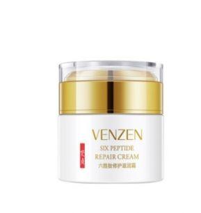 Омолаживающий ночной крем Venzen с гексапептидом .(5230)