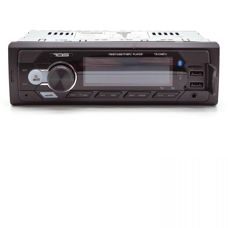 TDS TS-CAM14 автомагнитола (радио,USB,bluetooth)