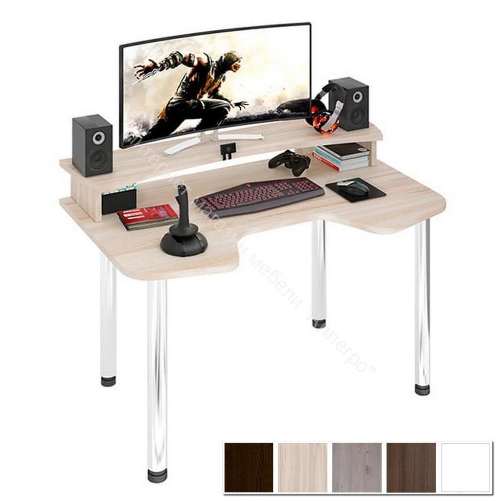 Компьютерный стол Домино lite СКЛ-Игр140МО+НКИЛ140
