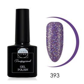 Гель-лак LunaLine 393 — пурпурный блеск