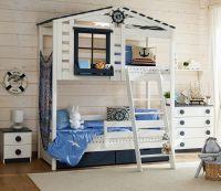 Кровать двухъярусная, Кровать-домик Roof №40F