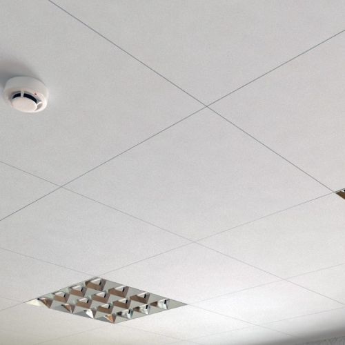 Потолок cesal алюминиевый кассетный 600х600
