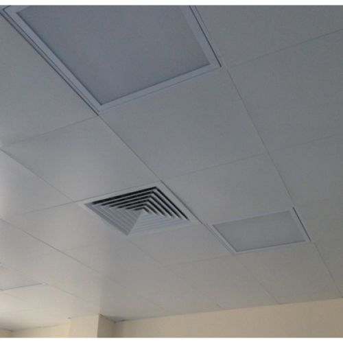Кассетный потолок cesal 30х30 белый матовый