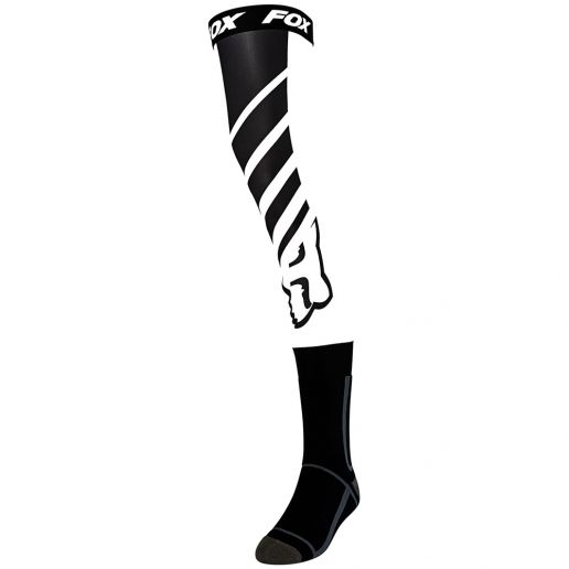 Fox Mach One Knee Brace Sock Black/White чулки под наколенники