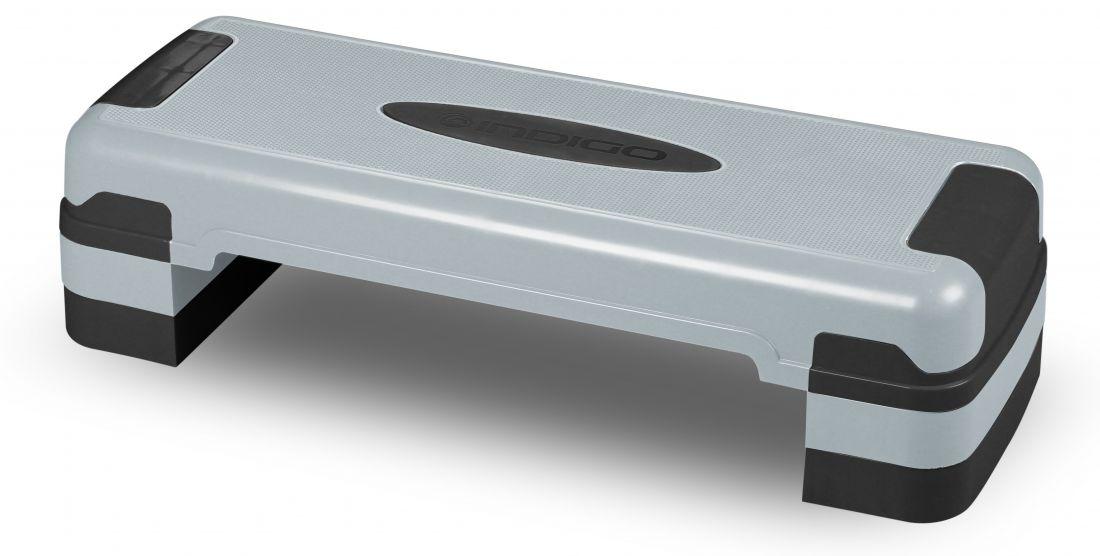 Степ-платформа для аэробики 3 уровня INDIGO IN169