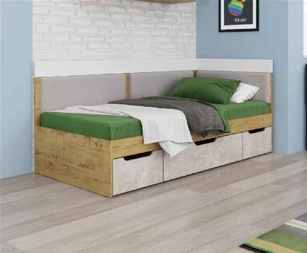 Дублин Модуль 1 Кровать 0,9