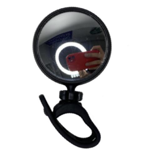 Зеркало Vinca Sport, круглое, с силиконовым креплением на руль JY-17