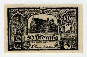 Германия нотгельд 50 пфеннингов 1920. UNC