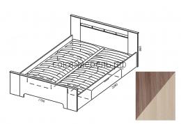 Грация Кровать шимо светлая