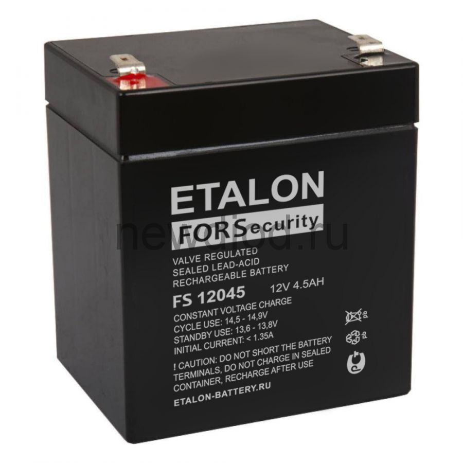 Аккумулятор ETALON FS 12045 (12В/4.5Ач)