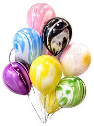 Набор воздушных шаров с рисунком агаты ассорти