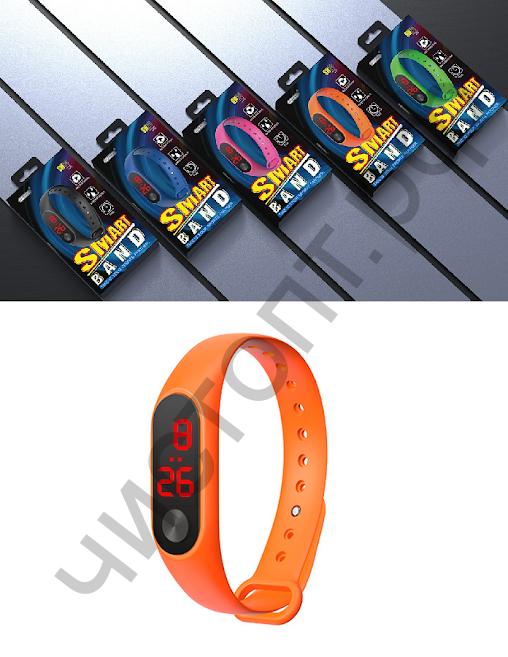 Часы наручные EZRA SW24 Оранжевые