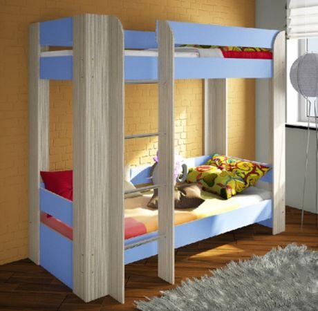 Двухъярусная кровать для мальчиков Фанки Кидз 20