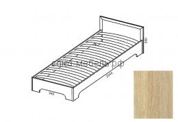 Вояж Кровать КР  0,9 сонома