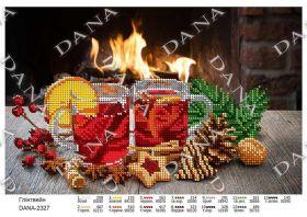 Dana DANA-2327. Глинтвейн схема для вышивки бисером купить оптом в магазине Золотая Игла