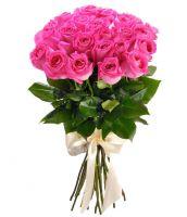 Розы розовые от 11 шт (40 см)