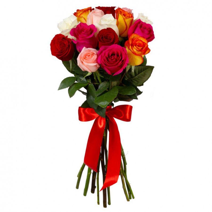 Розы микс 60 см