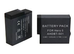 Аккумулятор для видеокамеры GoPro HD Hero 5 AHDBT-501