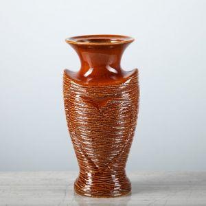 """Ваза настольная """"Амур"""", коричневая, 20 см, керамика"""