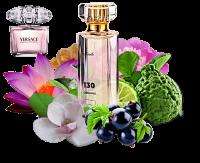 Аромат № 130  Направление:  Versace Bright Crystal, 50 ml