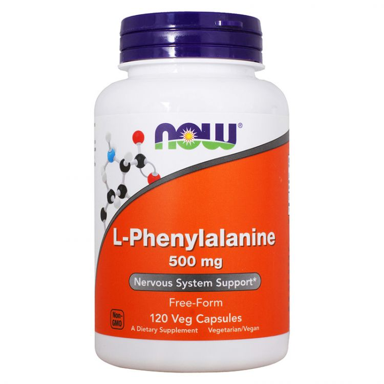 L-Phenylalanine Now 120 кап