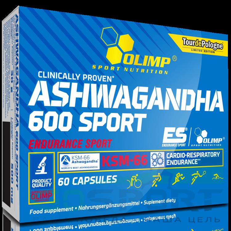 Olimp Ashwagandha 600 Sport (60 капс)