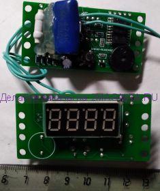 Счетчик времени наработки СНМСF для рециркуляторов