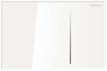 Cмывная клавиша Geberit Sigma 70 стекло, цвет белый 115.625.SI.1