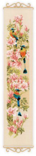Набор для вышивания крестом Тропические птички №1905 фирма Риолис