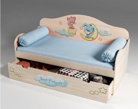 Кровать для малышей Лучшие друзья 40006