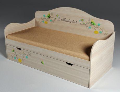 Воздушная кровать для детей Бабочки 40011