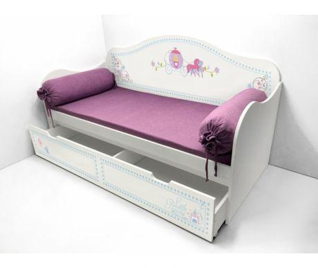 Кровать с узором Синдерелла 40025