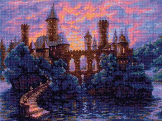 Набор для вышивания крестом Таинственный замок № 1909 фирма Риолис